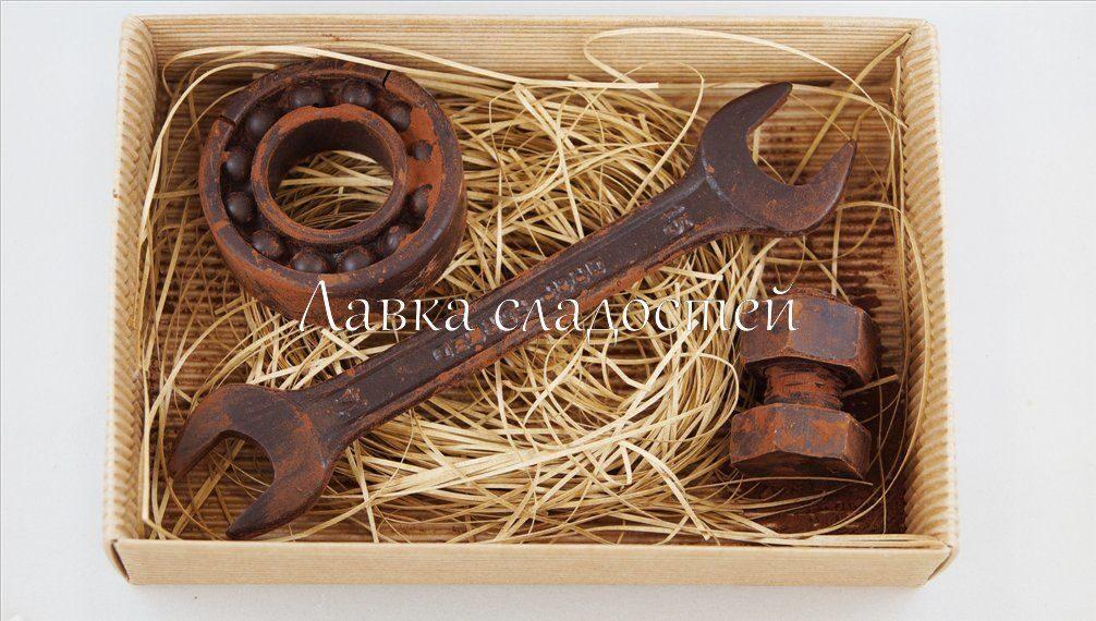 Шоколадный набор подарок мужчине 42